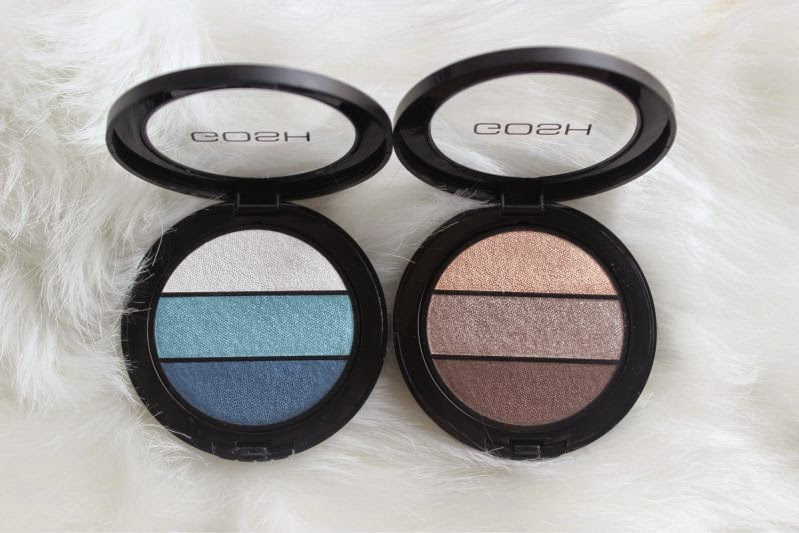 New Gosh Eyelight Trio Palettes