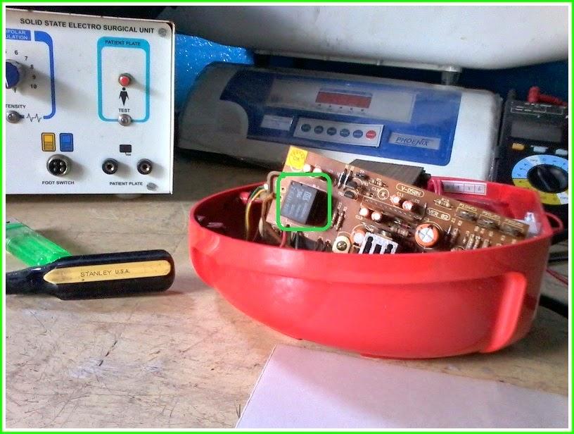 electro help  v guard deluxe50 firdge stabilizer  u2013 repair