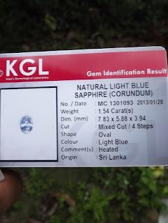 KGL gems ID