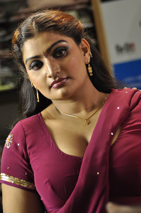 babilona in saree photo gallery