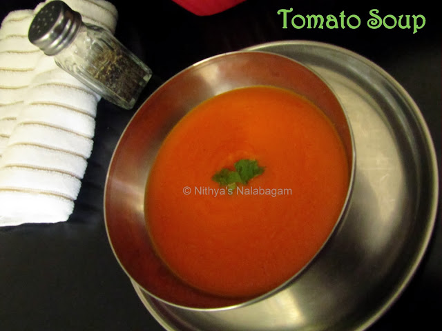 Tomato Soup Indian Style