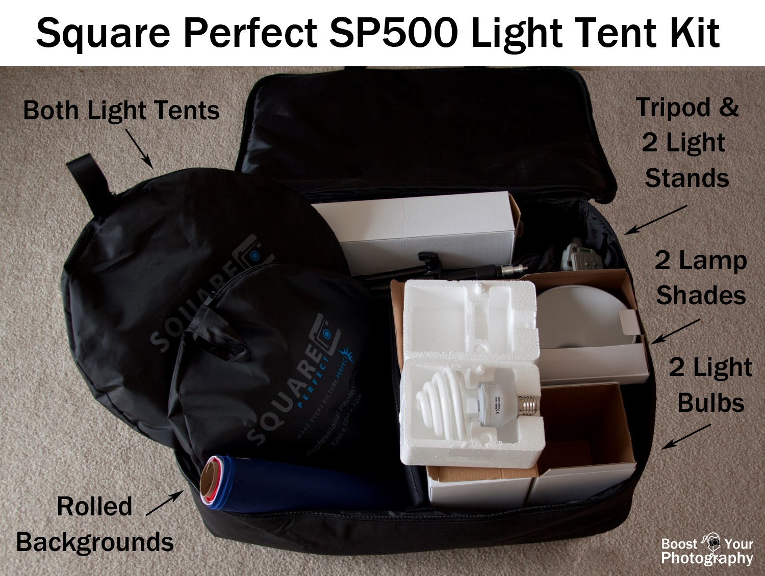 Square Perfect SP500 Light Tent Kit | Boost Your Photography