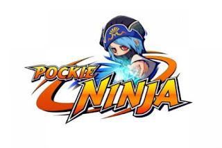 Pockie Ninja Logo