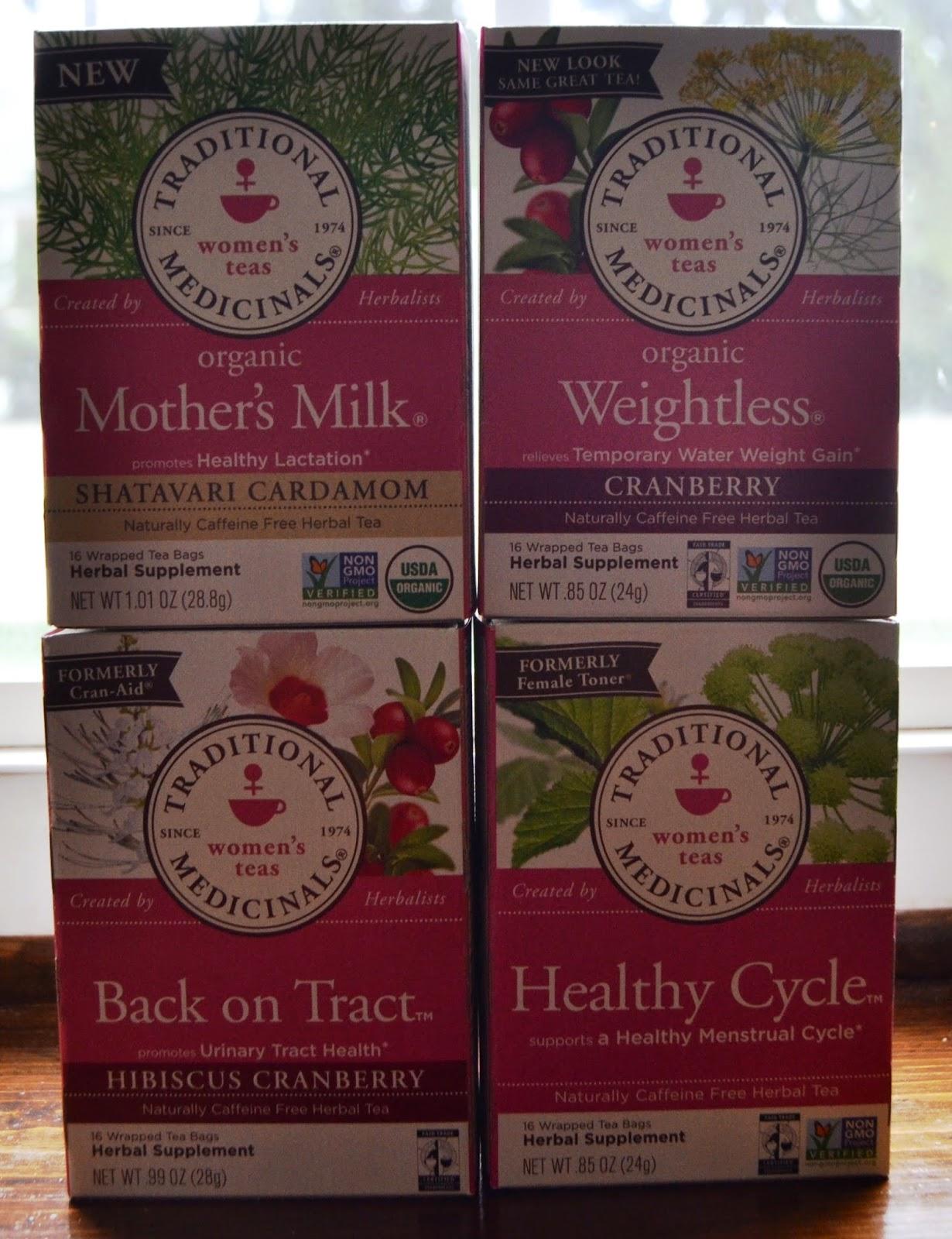 Traditional Medicinals Women's Teas