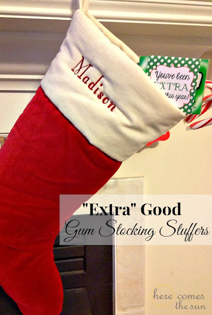 """Extra"" Good Gum Stocking Stuffers #shop"
