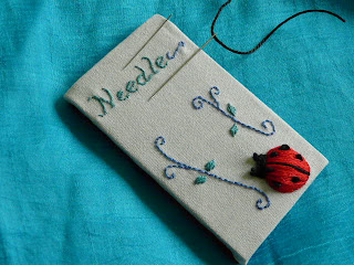 Ladybird Magnetic Needlekeeper