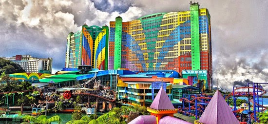 hotel first world genting berhantu