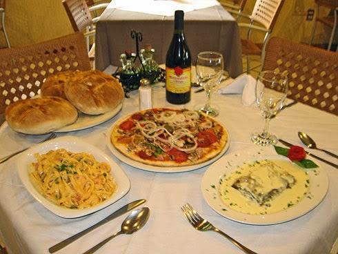 Gastronomía en Verona, Italia