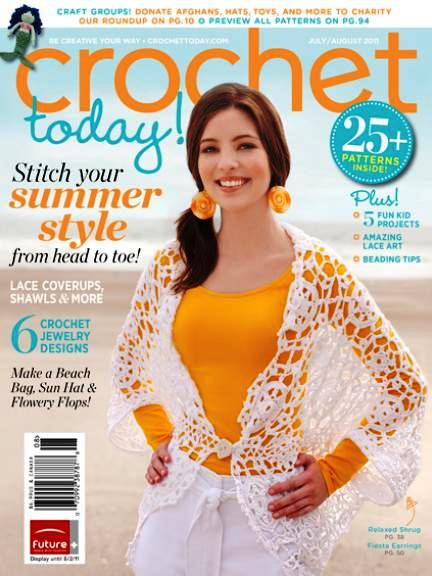Crochet Now Magazine : Crochet Today! July/August 2011