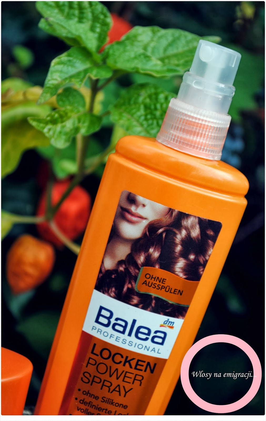Balea Locken Power Spray