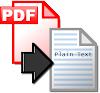 Convert PDF to copyable text .. online
