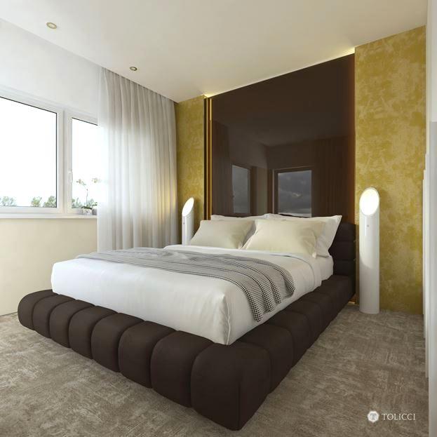 نظرة شاملة على غرفة النوم
