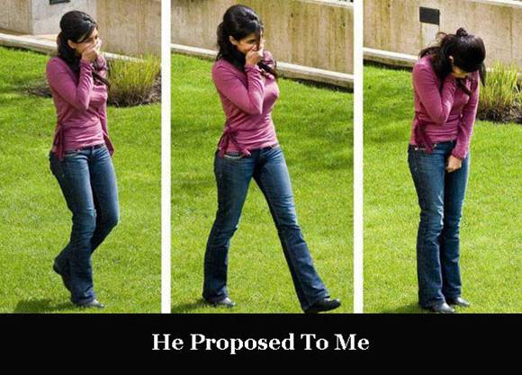 I Don't Believe, He Proposed To Me