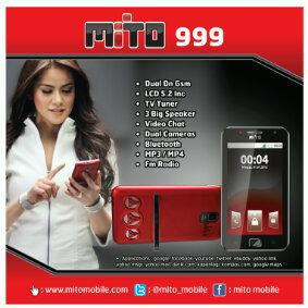 Harga Dan Spesifikasi HP Mito 999 Terlengkap