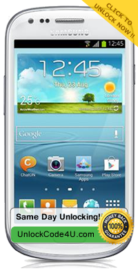 Factory Unlock Samsung Galaxy S3 Mini