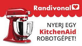 Nyerj egy tűzpiros KitchenAid Artisan robotgépet!