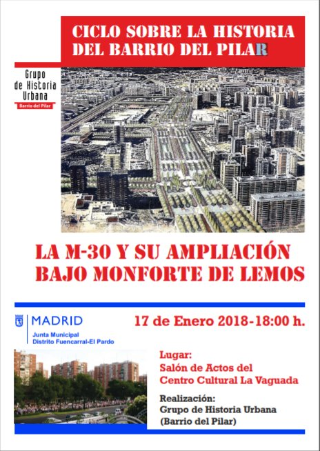 17 enero Nuevo acto sobre el barrio de El Pilar