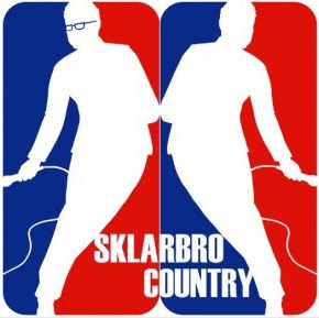'Sklarbro Country: like eatin' an 8-oz. Kansas City rib-eye. You gotta chew on it awhile. Break it down. Let it digest in your gut. Then the next day, when you're squattin' over a hole in the woods, scroungin' for an oak leaf to finish it off, it hits ya: you do it for the taste. Sklarbro Country: goes down like meat, comes out like gravy.'