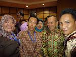 Pertemuan Dengan Pak Menteri UKM Syarif Hasan di Gedung UKM SMESCO Jakarta