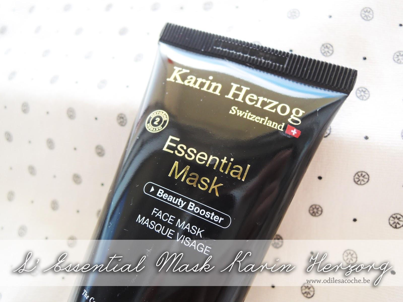 masque à l'oxygène de Karin Herzorg