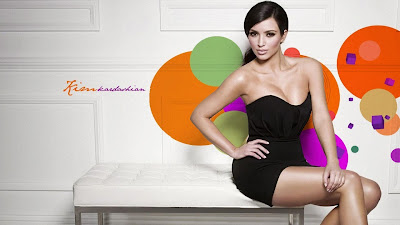 Kim Kardashian Hot HD Wallpaper