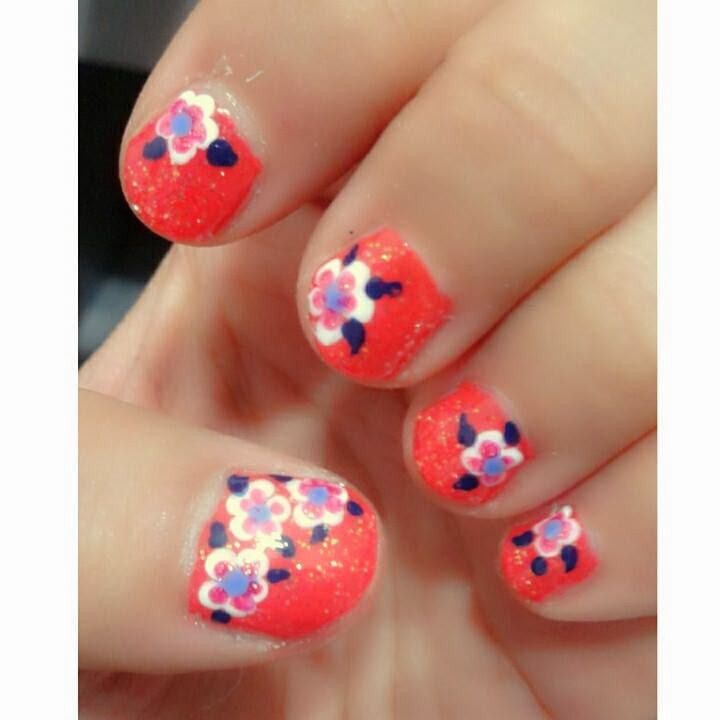 Life My 2014 Chinese New Year Nail Art Design