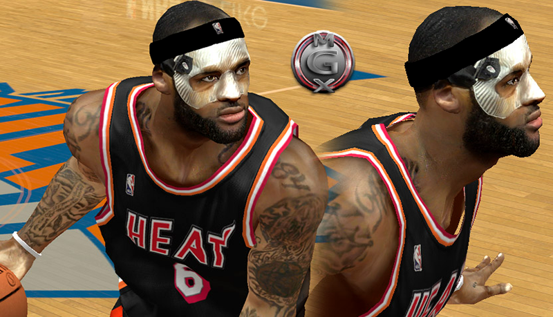 LeBron James Cyberface with Protective Mask
