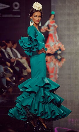 trajes flamencas 2014 Lina