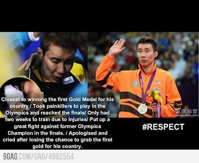 Chong Wei Olympics 2012