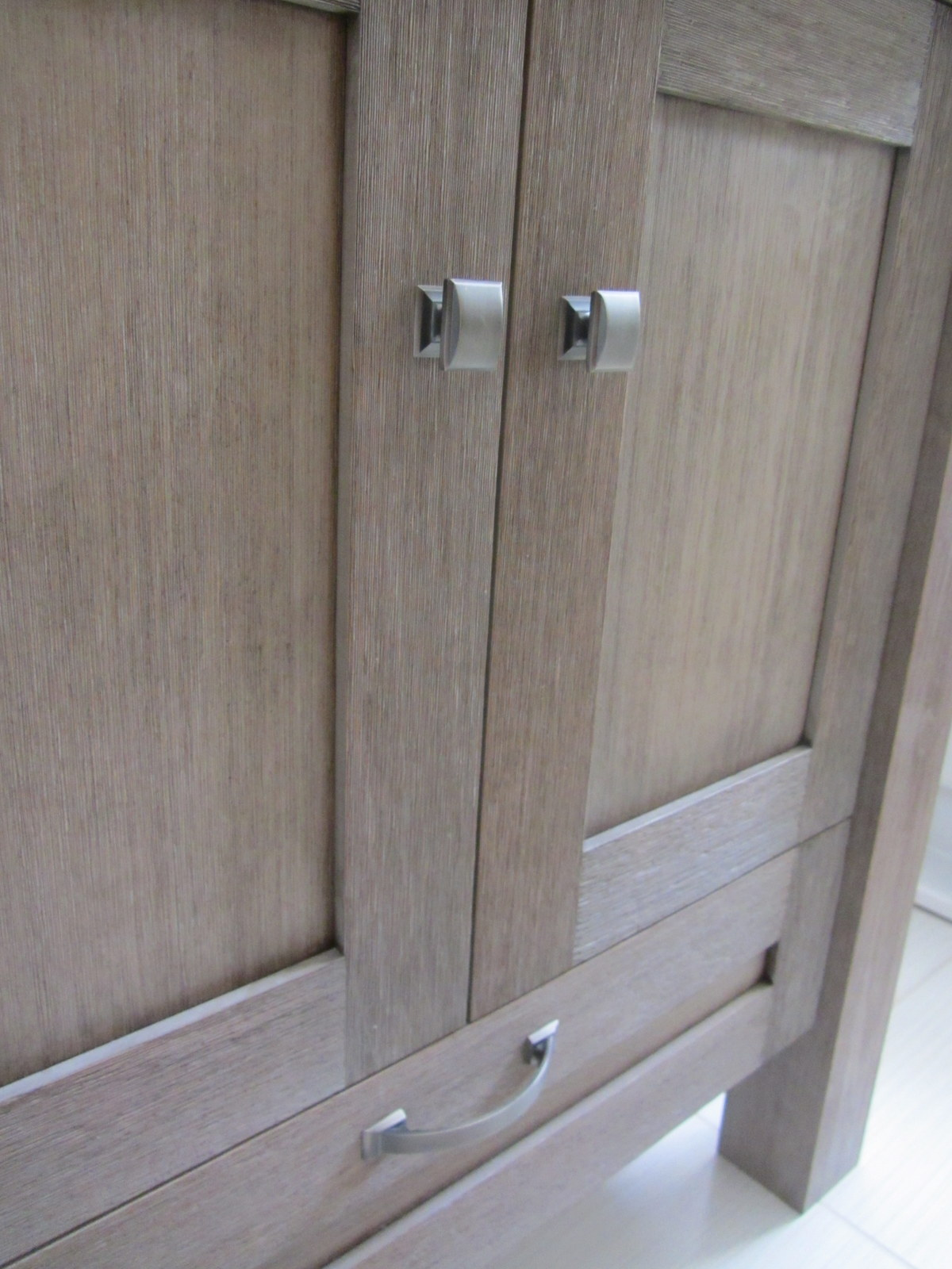 Details Such As A Seamless Tub, Wire Brushed Wood, Cabinet Hardware, Edge  Treatments, And Countertop Lines Really Stand Out In A Small Space, ...