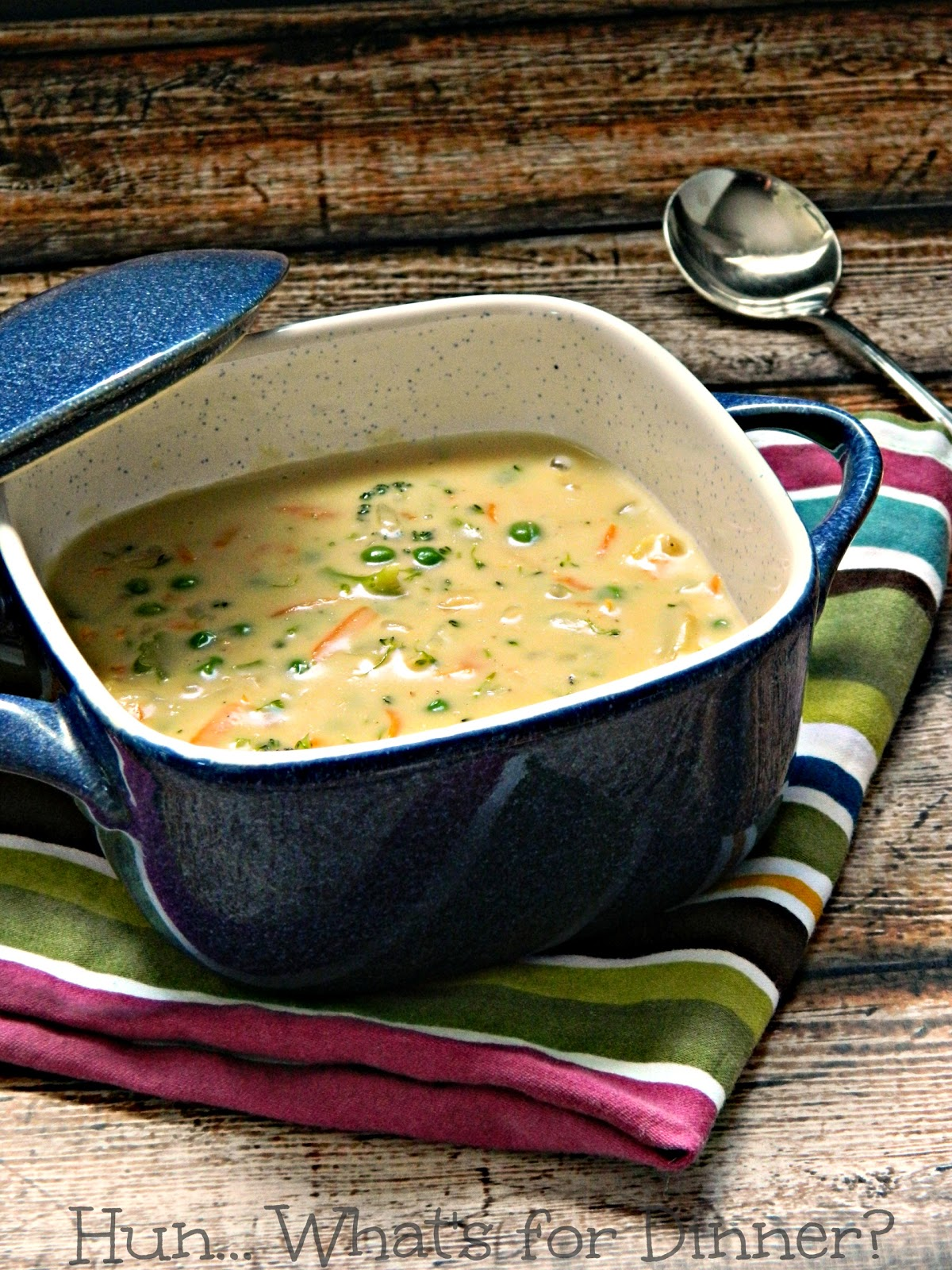 Cheesy Vegetable Chowder- Hun... What's for Dinner?