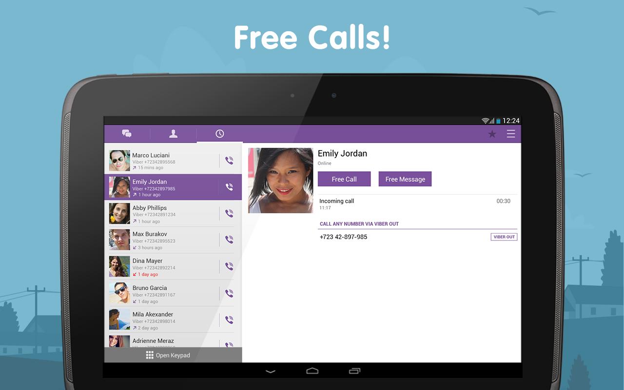 Viber Android Apk Uygulama resimi 3