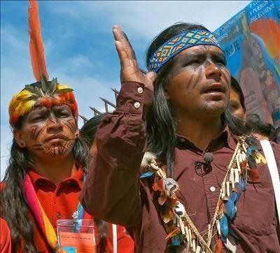 indigenas en Bogotá