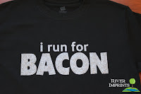 Style Athletics Etsy Workout Fitness Items River Imprints I Run for Bacon