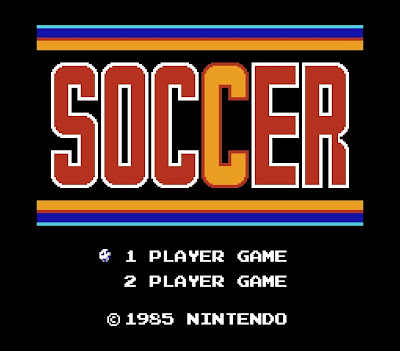 Soccer title screen