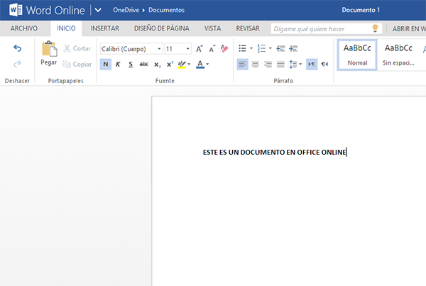 office word online desde outlook mail