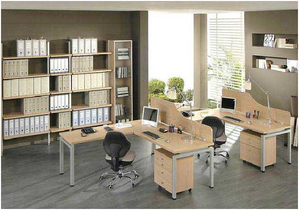 Dise o y decoraci n de la casa instale una oficina for Oficinas pequenas modernas en casa