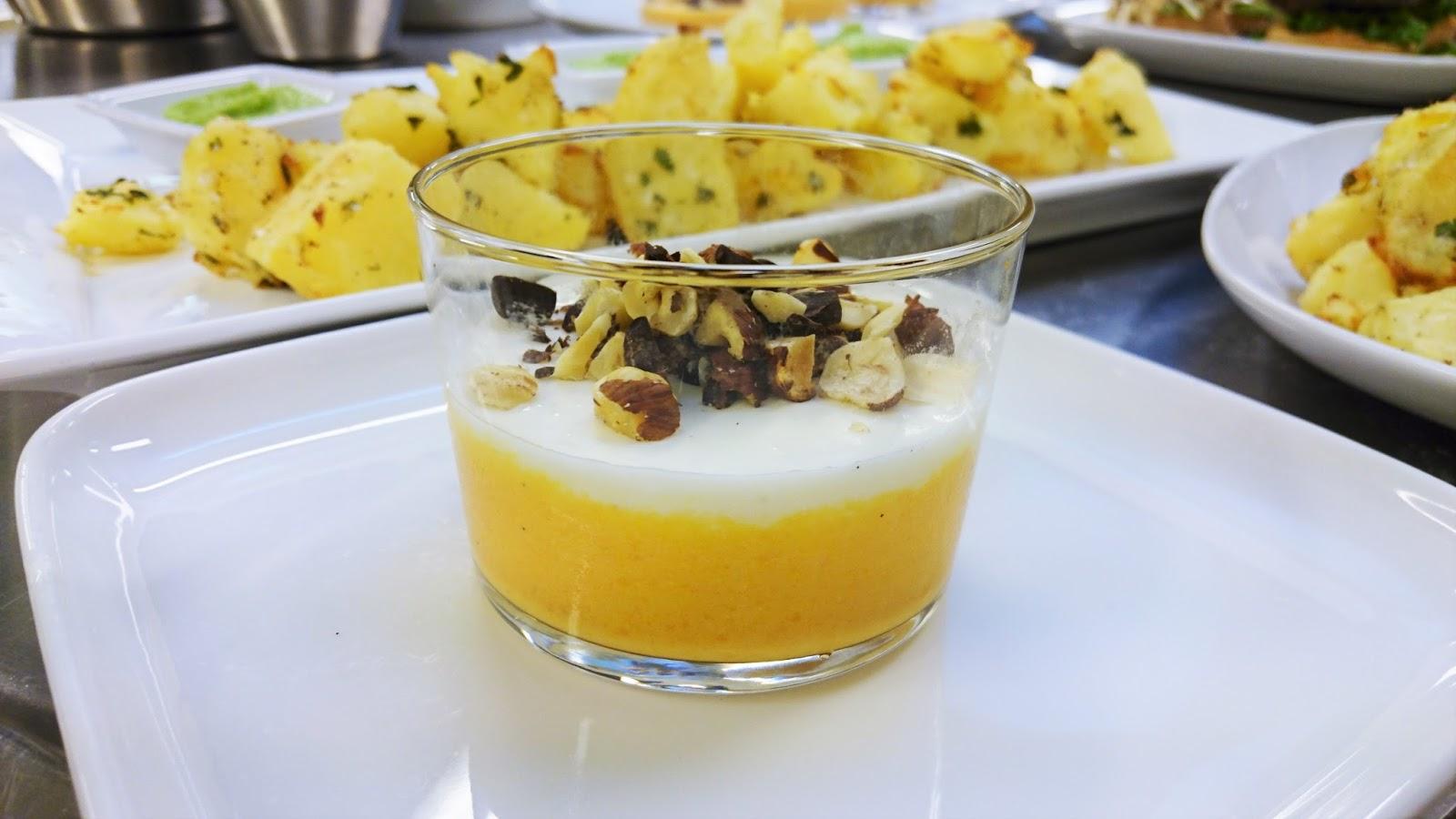 Gulerods-appelsin skyr fromage