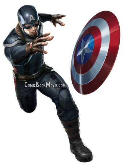 Captain America: The Winter Soldier new suit concept art