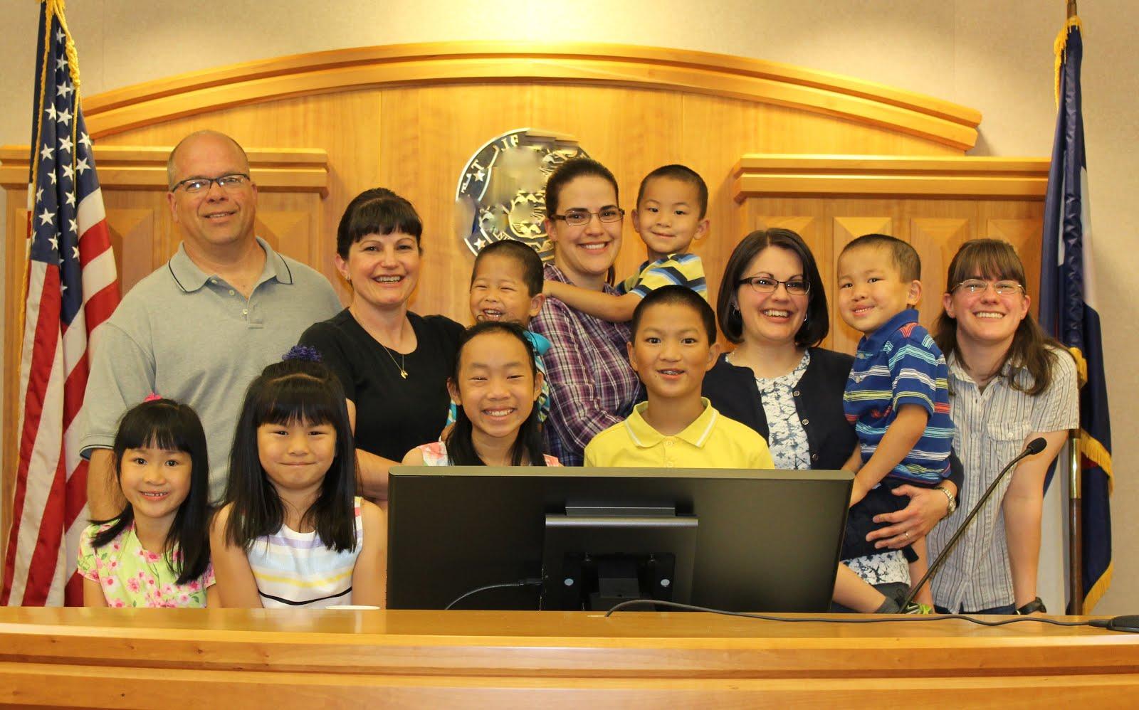 Peterson Family Adoption!