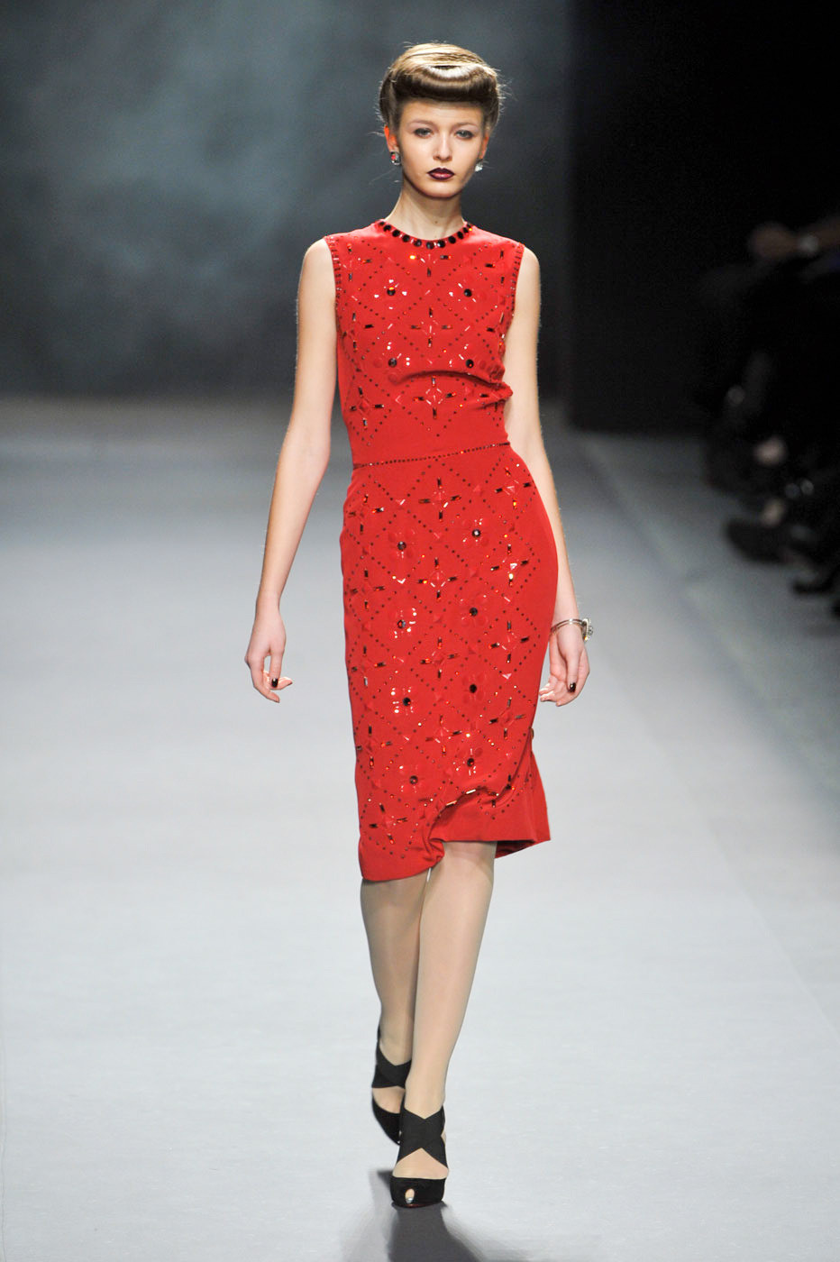 Jenny Packham Fall/winter 2012 | red trend | inspiration