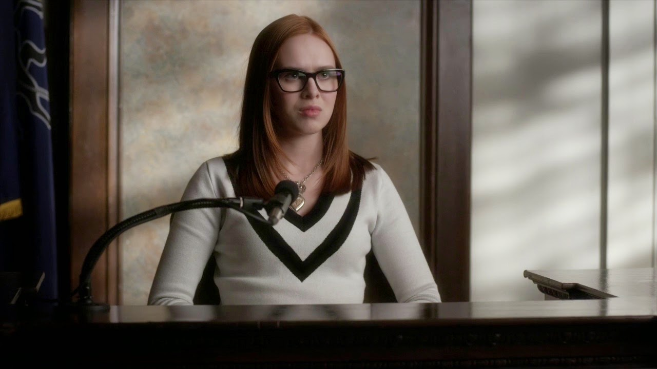 Leslie Stone testifies Pretty Little Liars 5x24