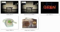 Zbiór obrazków wykorzystanych w kursie - zrzut