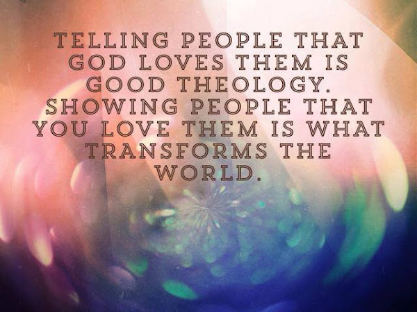 Transforming Love (Jim Palmer Quote)