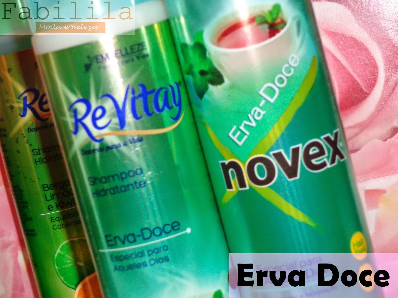 Shampoo e Condicionador Erva Doce ReVitay Embelleze