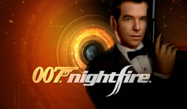 007 nightfire title screen