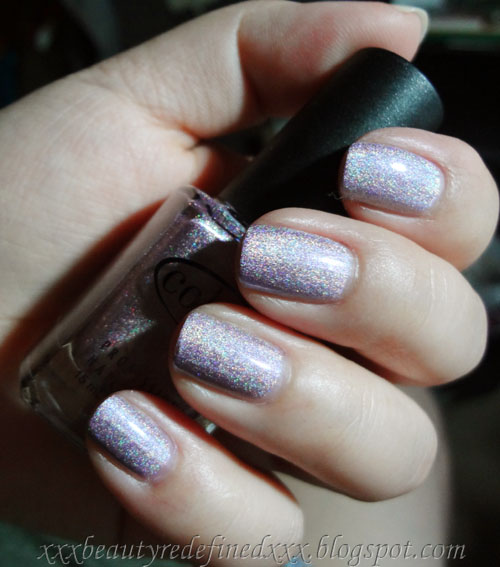 Color Club Holographic Nail Polish Swatches: BeautyRedefined By Pang: Color Club Holographic Nail