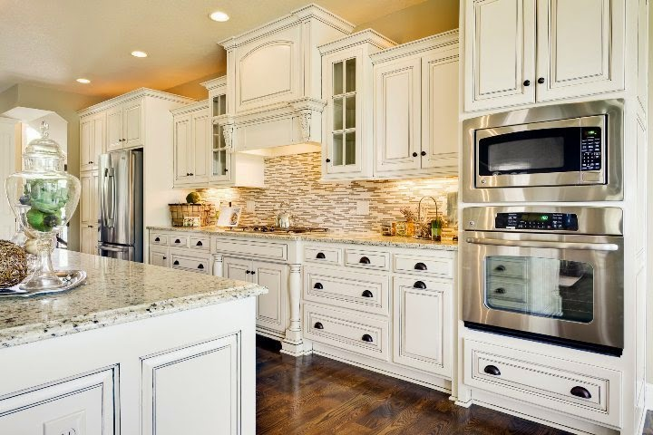 design ideas for kitchens with white cabinets