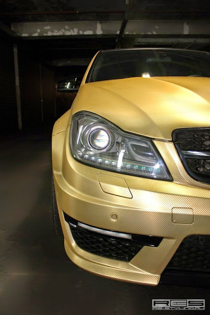 c63 amg led headlights