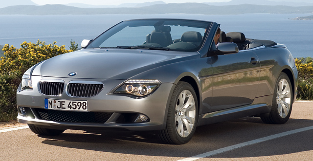 BMW 650i Convertible, BMW 650i Convertible black, BMW 650i Convertible, wallpaper, BMW 650i Convertible 2011